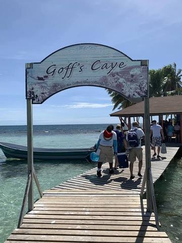 Belize Goff's Caye Island Getaway and Snorkel Cruise Excursion Absolutely breathtaking!