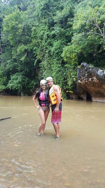 Belize Nohoch Che'en Caves Branch Cave Tubing Excursion The best! Hands down!