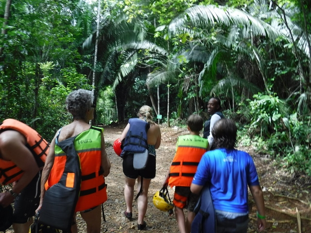 Belize Nohoch Che'en Caves Branch Cave Tubing Excursion Most amazing experience