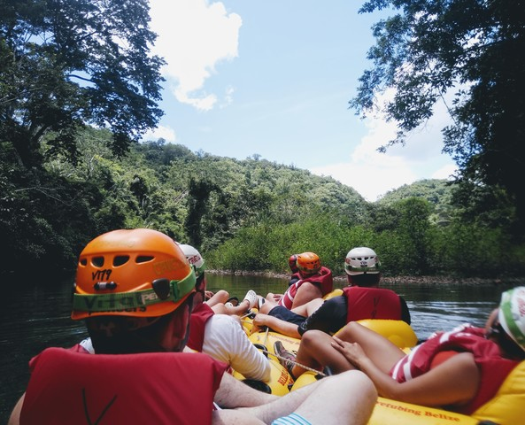 Belize Nohoch Che'en Caves Branch Cave Tubing Excursion Lots of fun