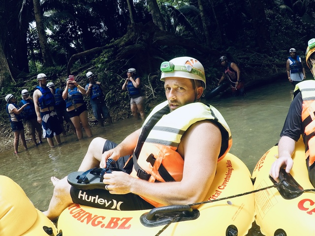 Belize Nohoch Che'en Caves Branch Cave Tubing Excursion Loved it!