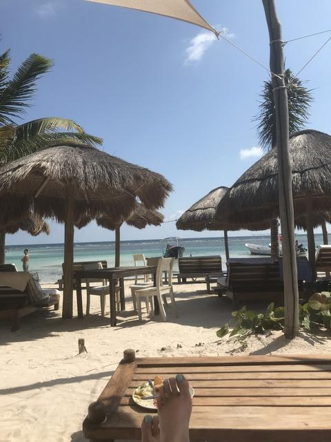 Costa Maya YaYa Beach Break Day Pass Excursion Pretty quiet and relaxing!