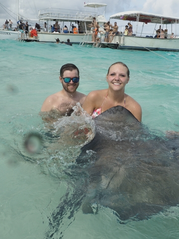 Grand Cayman Coral Reef Snorkel and Stingray City Combo Excursion Amazingly fun!