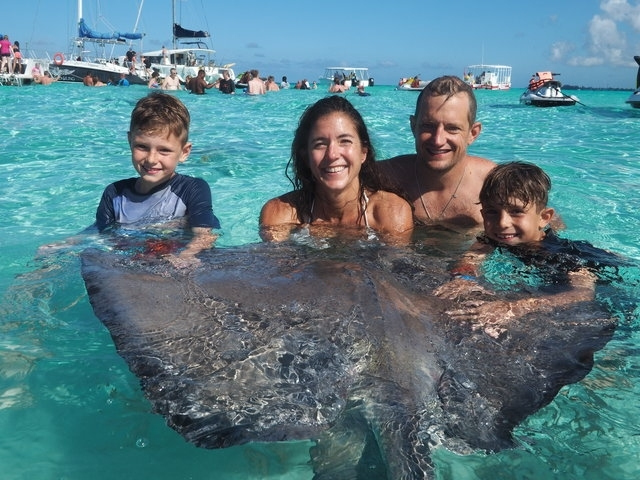 Grand Cayman Stingray City, Coral Gardens Snorkel and Turtle Farm Excursion One of the Best Experiences of your life!!