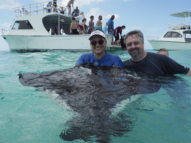 Grand Cayman Stingray Encounter, Coral Gardens and Starfish Snorkel Excursion Good tour guides, amazing stingrays & starfish
