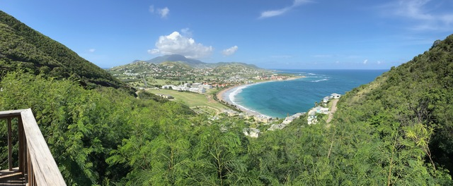 St. Kitts Open Air Safari Bus Sightseeing Excursion Private driver but not a guided tour