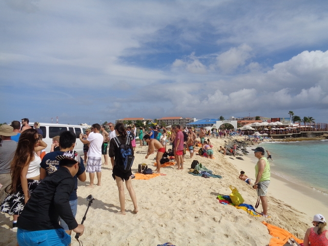 St. Maarten Famous Maho Beach Break Excursion Fun afternoon at Maho beach