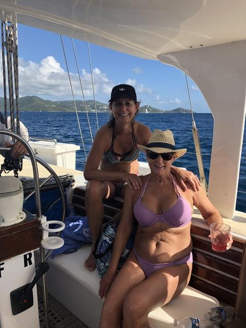 St. Thomas Full Day Sailing to St. John, Snorkel and Lunch Excursion Sooo very enjoyable!!!