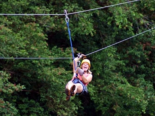 Puerto Limon canopy zipline Excursion