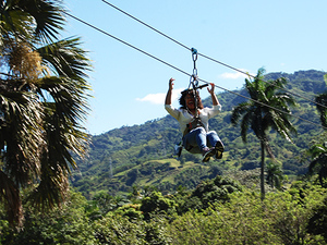 Amber Cove Puerto Plata ATV Off Road and 8 Zip Lines Adventure Excursion