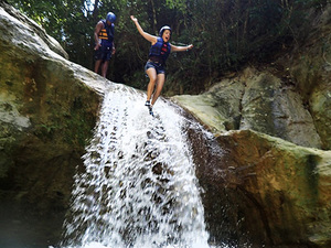 Amber Cove Puerto Plata Damajagua Waterfall Jump and Slide Excursion