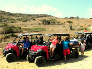 Aruba Polaris Buggy Adventure Excursion