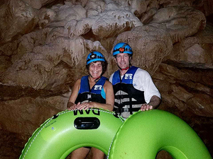 Belize Cave Tubing and Jungle Zip Line Excursion