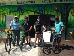 Belize Jungle Mountain Bike and City Sightseeing Excursion