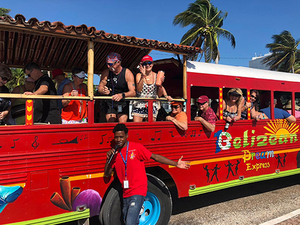Belize Party Bus and Sightseeing Excursion