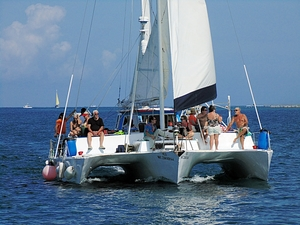 Best Cozumel Catamaran Sail and Coral Reef Snorkel Excursion