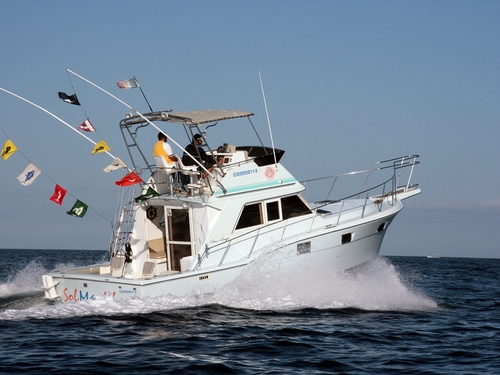 Cabo San Lucas  Mexico trolling style fishing Cruise Excursion