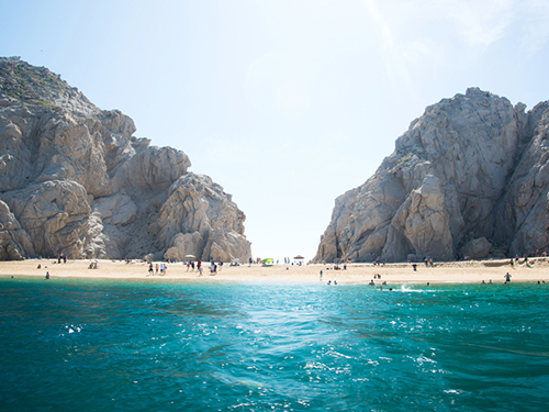 Cabo San Lucas Lovers Beach Whale Watching Cruise Excursion Tickets
