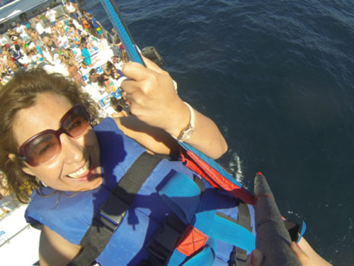 Cabo San Lucas Mexico Lands End Parasailing Tour Booking
