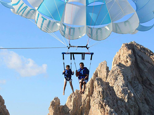 Cabo San Lucas Medano Beach Parasailing Excursion Reservations
