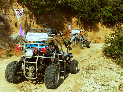 Cagliari  Sardinia Geremeas Buggy Tour Booking
