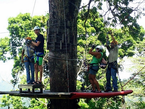 Puerto Limon  Costa Rica canopy zipline Reviews