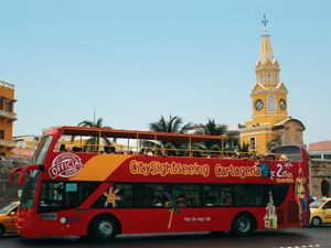 Cartagena City Sightseeing Hop On Hop Off Bus Excursion