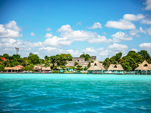 Costa Maya Bacalar Seven Color Blue Lagoon Boat Ride Excursion