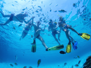 Costa Maya Guided 2 Reef Boat Snorkel Excursion