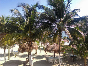 Costa Maya Los Arrecifes Beach Break Day Pass Excursion