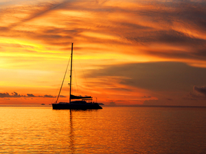 Cozumel Catamaran Sunset Sail and Snorkel Excursion