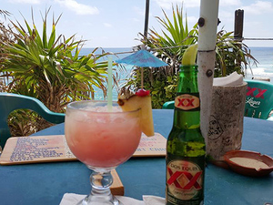 Cozumel East Side Beaches, Bars and Cantina Hop Excursion