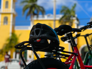 Cozumel Electric Bike City Sightseeing and Lunch Excursion