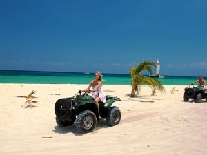 Cozumel Mr. Sanchos Beach ATV Excursion