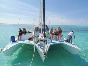 Cozumel Private Catamaran Sail and Snorkel Charter Excursion
