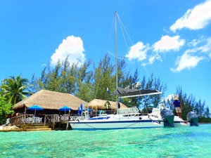 Cozumel Super Combo Catamaran, Snorkel, and Private Jeep Island Excursion with Lunch