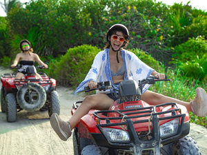 Cozumel Wild Side ATV and Virgin Beaches Excursion