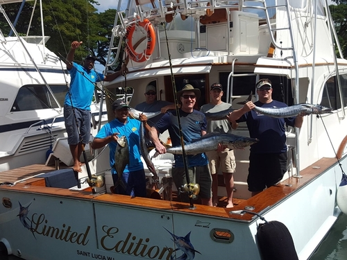 St. Lucia fishing charter Shore Excursion Tickets