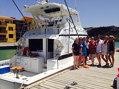 Curacao Willemstad private boat charter Trip Booking