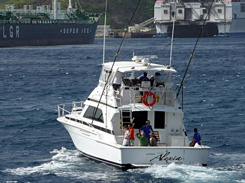 Curacao deep sea fishing Shore Excursion Cost