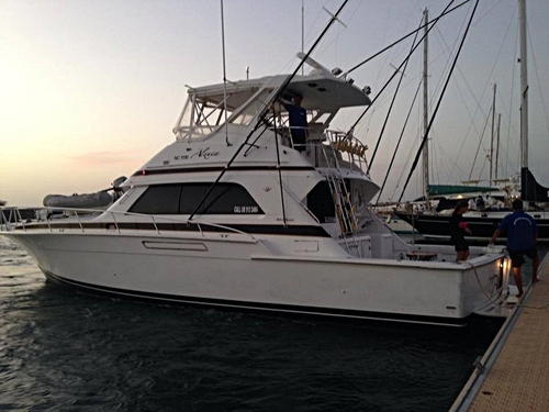 Curacao private fishing charter Tour Booking