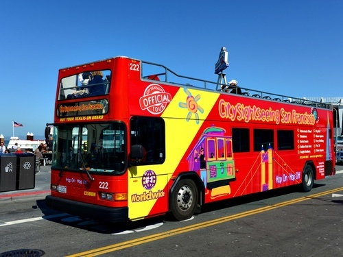 San Francisco California hop on hop off bus Trip Booking