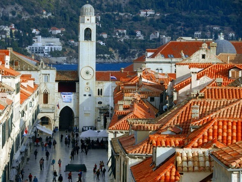 Dubrovnik Croatia Old City Walls Shore Excursion Prices