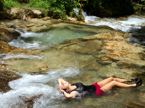 Falmouth waterfall climb Sightseeing Shore Sightseeing Excursion Reservations
