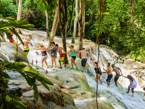 Falmouth Dunn's River Falls Tubing Trip Cost