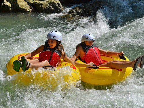 Falmouth Jamaica helpful guides Tubing Tour Tickets