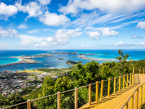 St. Maarten  Netherlands Antilles (St. Martin) Chairlift Shore Excursion Booking