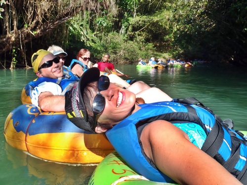 Ocho Rios Falls  White River Tubing Shore Excursions Booking