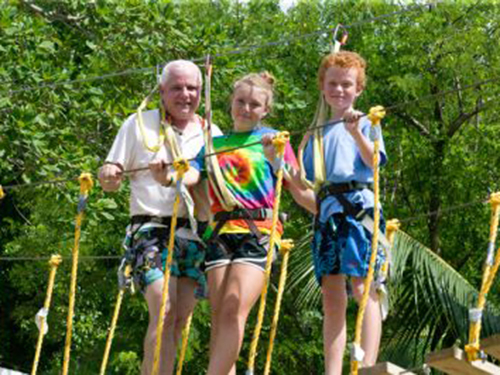 Roatan Zip Lines Excursion Reservations