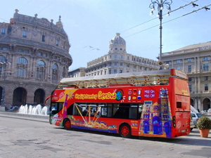 Genoa City Sightseeing Hop On Hop Off Bus Excursion